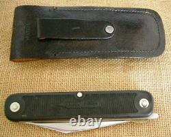 Couteau Et Scie À Pliage Coleman Western 2 Blade, Vintage, Usa, 1987