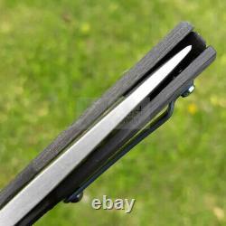 Couteau Pliant Fox Suru Pliant 2,25 M390 Poignée En Fibre De Carbone De La Lame Inoxydable