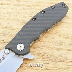 Couteau Pliant Hinderer À Tolérance Zéro 3.5 Cpm-20cv Lame D'acier Carbon F Poignée
