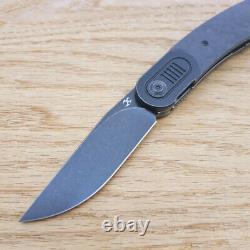 Couteau Pliant Kansept Couteau Pliant 3 Cpm-s35vn Lame En Acier Poignée En Fibre De Carbone