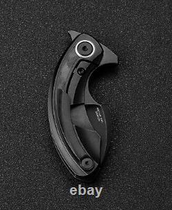 Couteaux Bestech Couteau Pliant 2.19 M390 Lame D'acier Titanium/poignée De Fibre De Carbone