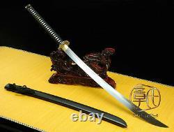 De Haute Qualité Japonais Ninja Sect Sanctuaire Samurai Sword Katana Polded Steel #3709