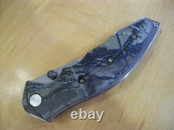 Edition Limitée Buck Knife 415 Pliage Kalinga Pro / Camo Handle Gem Mint Nouveau