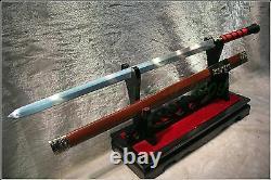 Épée Chinoise De Haute Qualité Han Jian Polded Steel Sharp Blade #4459