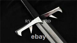 Épée Faite À La Main Des Immortels 1095 Accessoires De Fer En Acier Plié Kurgan Sword