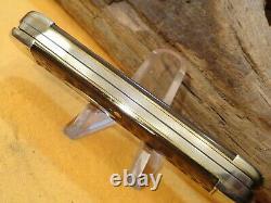 Étui Testé Couteau De Poche Vintage Couteau De Poche Lot Pliant Cas XX Couteau 6294j