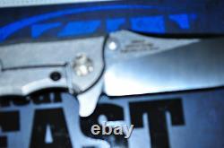 Kershaw Tolérance Zéro 0562cf Couteau Pliant3.5 Lame, Fibre De Carbonetitanium Hdlus