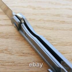Kizer Couteau Pliant Begleiter Couteau Pliant 3.5 Cpm-s35vn Lame En Acier Poignée En Titane