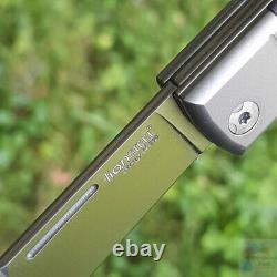 Lionsteel Bestman Bm2 Cf Couteau Pliant 2,88 M390 Fibre De Carbone À Lame D'acier