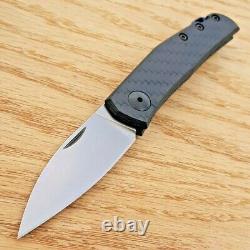Modèle De Tolérance Zéro 0235 Couteau Pliant 2.60 Cpm-20cv Lame D'acier Fibre De Carbone