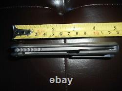 Nouveau Couteau Pliant Par Lame Russe Cheburkov Cmp S60v Échelles Titanium