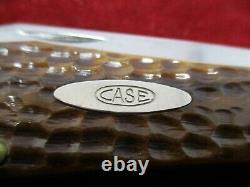 Old Case XX Green Bone Folding Hunter Knife C61050sab C. Full Blade Des Années 1940