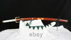 Samurai Champloo Mugen's Sword 1095 Folded Steel Blade Battle Ready Full Tang