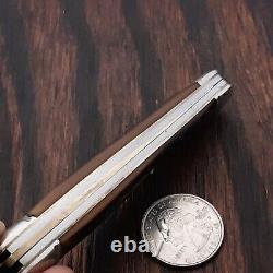 Schrade Walden Splitback Whittler 805 Couteau Fabriqué Aux États-unis Vintage Pocket Pliant
