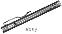 Spyderco C242cfp Ikuchi Flipper Pliant Couteau S30v Acier Inoxydable Fibre De Carbone