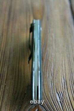 Spyderco C59cfp Shabaria Couteau Pliant 3-7/8 Plaine Vg10 Lame, Fibre De Carbone