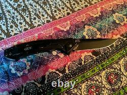 Tolérance Zéro 0450cf Couteau Pliant Fibre De Carbone Cpm S35vn Lire No Box