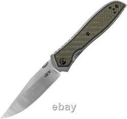 Tolérance Zéro Emerson 0640 Couteau Pliant Cpm20cv Blade Carbon Fiber Zt Dealer