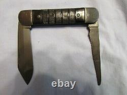 Vintage Colonial Wwii Fighter Pilot Survival Polding Couteau. Non Utilisé Excellent