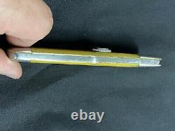 Vintage Ka-bar 1-blade 1106 Swell Center Couteau De Poche Pliant Hunter Vers 1925-1930