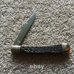 Winchester Lockback (1 Lame) 5-3/8 Couteau Pliant #w15-1927 (marque Neuve En Boîte)