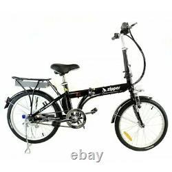 Z2 Compact Pliage Vélo Électrique 20 Onyx Black 250w Moteur Sans Brosse